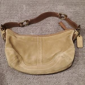Authentic Vintage Coach Camel shoulder bag